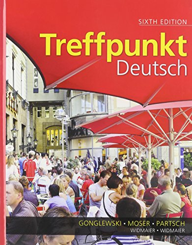 Treffpunkt Deutsch Grundstufe and Student Activities Manual  2013 9780205874422 Front Cover
