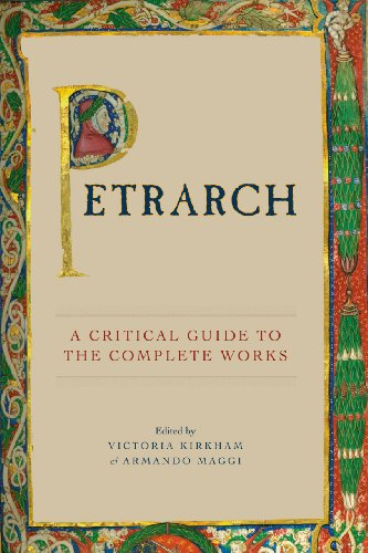 Petrarch A Critical Guide to the Complete Works  2012 edition cover
