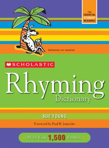 Scholastic Rhyming Dictionary  Revised edition cover
