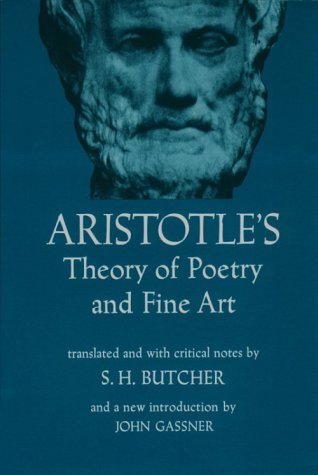 Poetics Theory of Poetry and Fine Art 4th 1951 (Revised) edition cover