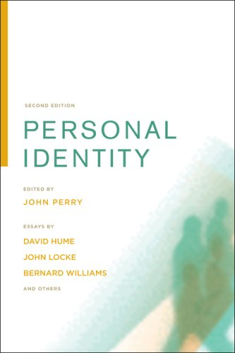 Personal Identity  2nd 2008 edition cover