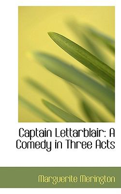 Captain Lettarblair : A Comedy in Three Acts  2008 edition cover