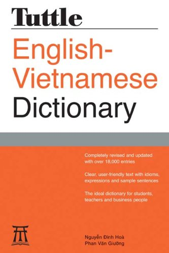 Tuttle English-Vietnamese Dictionary  2nd 2007 (Revised) edition cover
