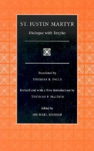 Dialogue with Trypho   2003 (Revised) edition cover