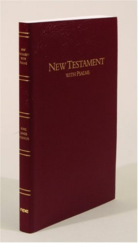 New Testament with Psalms  Large Type edition cover