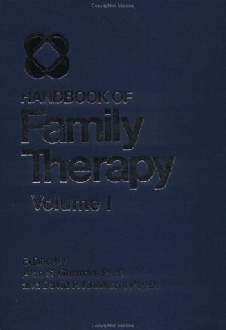 Handbook of Family Therapy   1981 edition cover