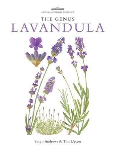 Genus Lavandula   2004 9780881926422 Front Cover