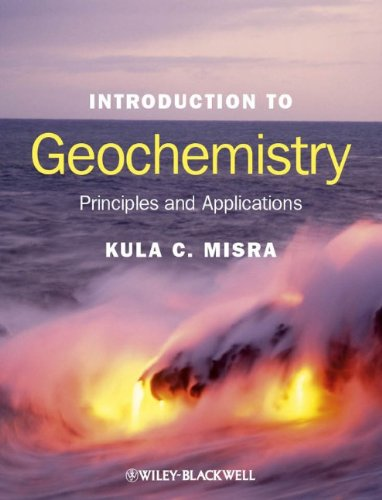 Introduction to Geochemistry Principles and Applications  2012 edition cover