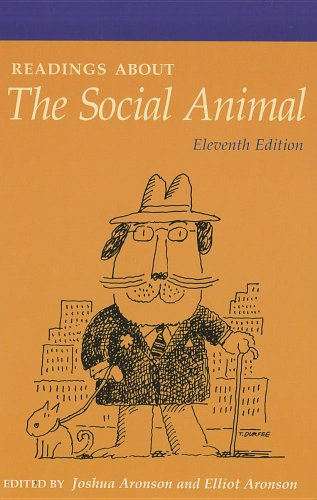 Readings about the Social Animal  11th 2011 edition cover