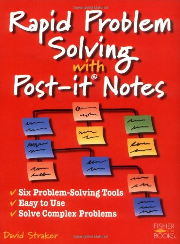 Rapid Problem Solving with Post-It Notes   1997 edition cover