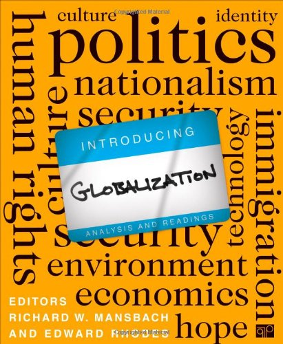 Introduction Globalization Analysis and Readings  2013 (Revised) 9781608717422 Front Cover