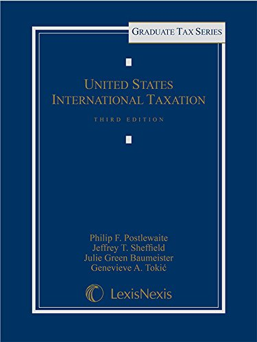 United States International Taxation   2015 edition cover