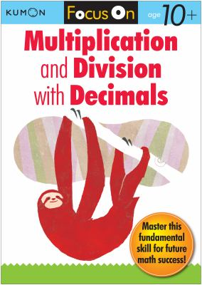 Focus on Multiplication and Division With Decimals  2012 9781935800422 Front Cover