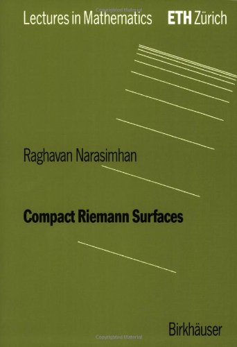 Compact Riemann Surfaces   1992 9783764327422 Front Cover