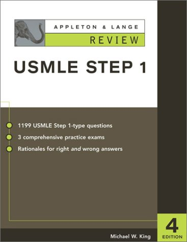 Appleton and Lange Review for the USMLE Step 1 4th 2003 9780071377423 Front Cover