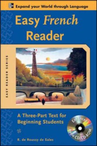 Easy French Reader A Three-Part Text for Beginning Students 2nd 2008 edition cover