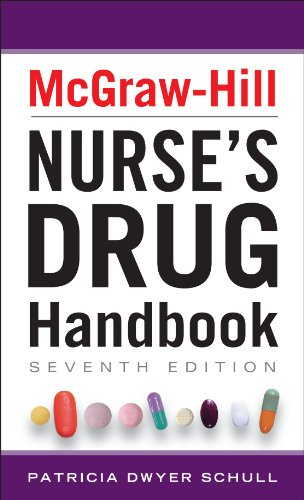 McGraw-Hill Nurses Drug Handbook, Seventh Edition  7th 2013 9780071799423 Front Cover