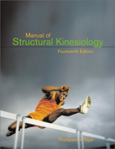 Manual of Structural Kinesiology with Dynamic Human 2.0  14th 2001 edition cover