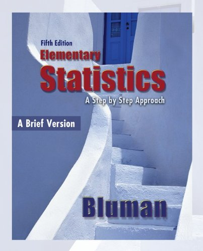 Elementary Statistics  5th 2010 (Brief Edition) 9780077359423 Front Cover