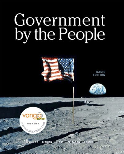 Government by the People  22nd 2008 9780132434423 Front Cover