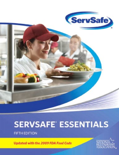 Servsafe Essentials 2009  5th 2011 (Revised) 9780135107423 Front Cover