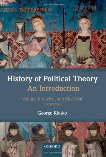 History of Political Theory: an Introduction Volume I: Ancient and Medieval 2nd 2012 edition cover