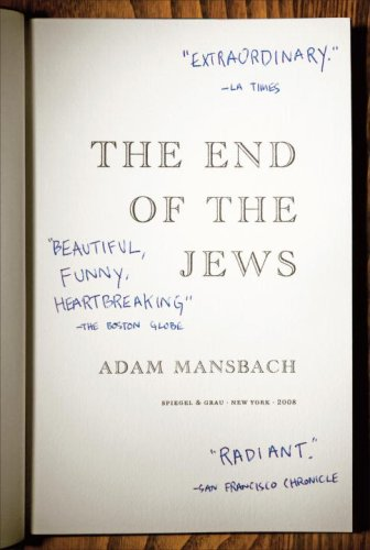End of the Jews  N/A edition cover