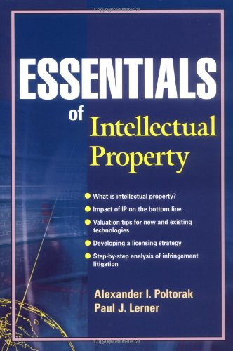 Essentials of Intellectual Property Law, Economics, and Strategy  2002 9780471209423 Front Cover