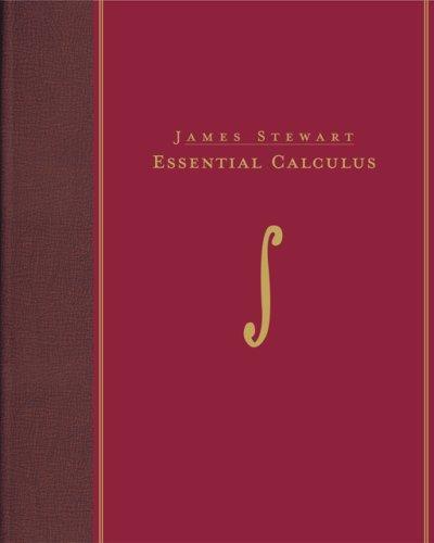 Essential Calculus   2007 edition cover