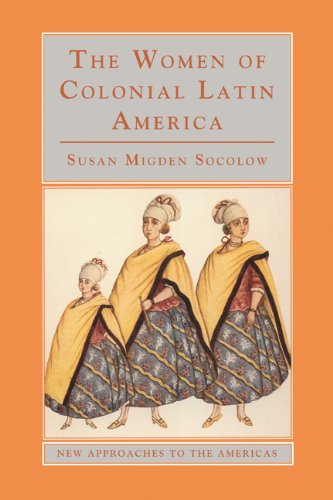 Women of Colonial Latin America   2000 edition cover
