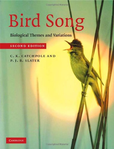 Bird Song Biological Themes and Variations 2nd 2008 (Revised) edition cover