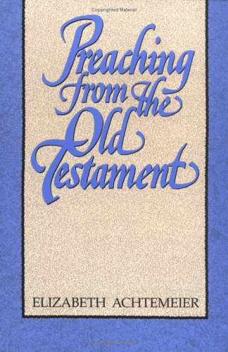 Preaching from the Old Testament  N/A edition cover