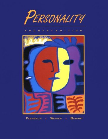 Personality  4th 1996 edition cover