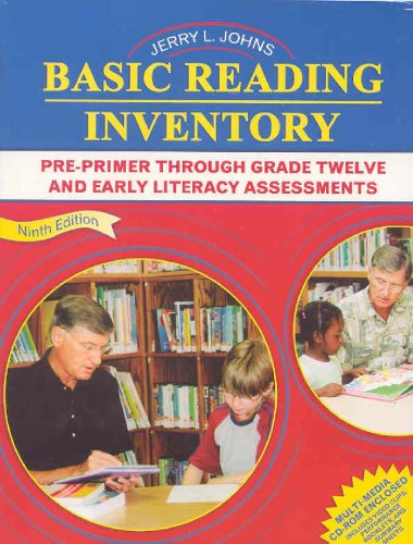 Basic Reading Inventory Pre-Primer Through Grade Twelve and Early Literacy Assessments 9th 2005 (Revised) edition cover