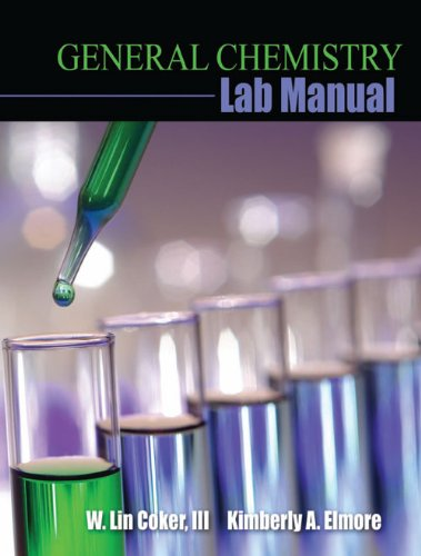 General Chemistry Lab Manual  2nd (Revised) 9780757563423 Front Cover