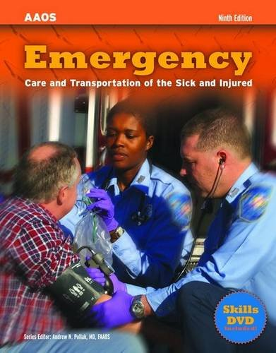 Emergency Care and Transportation of the Sick and Injured 9th 2007 (Revised) 9780763771423 Front Cover