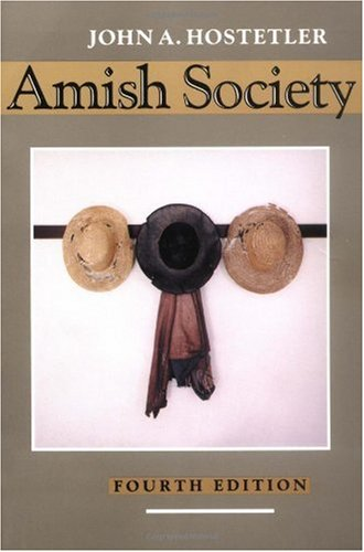 Amish Society  4th 1993 (Revised) edition cover