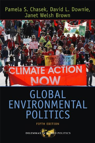 Global Environmental Politics  5th 2010 edition cover