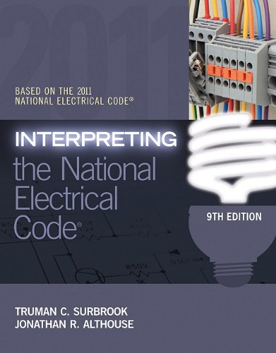 Interpreting the National Electrical Code  9th 2012 edition cover