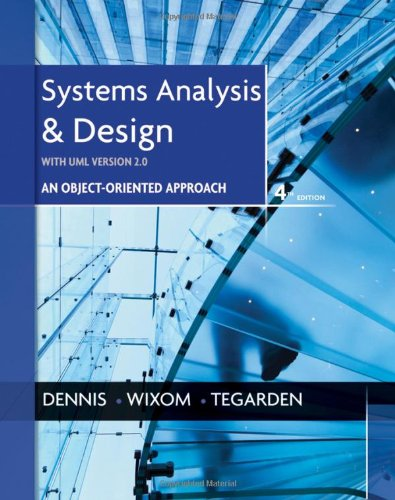 Systems Analysis and Design with UML  4th 2012 edition cover