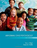 Abnormal Child Psychology:   2015 edition cover