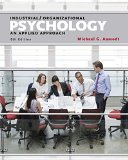 Industrial / Organizational Psychology: An Applied Approach  2015 9781305118423 Front Cover