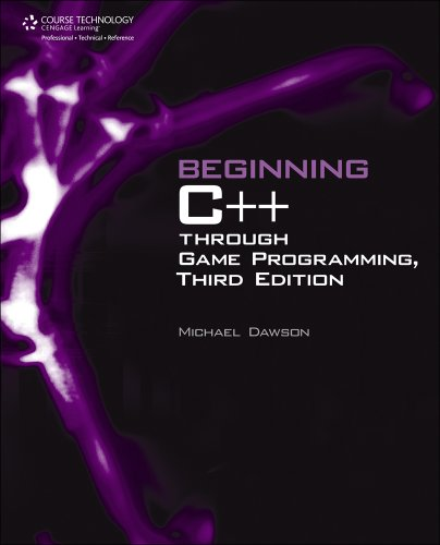 Beginning C++ Through Game Programming  3rd 2011 edition cover
