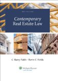 Contemporary Real Estate Law  N/A 9781454816423 Front Cover