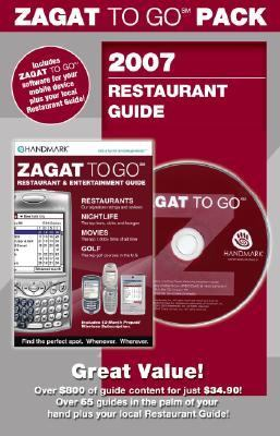 Zagat to Go 2007 Pack New York City Restaurants:  2006 edition cover