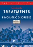 Gabbard's Treatments of Psychiatric Disorders  5th 2014 (Revised) edition cover