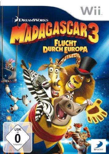 Madagascar 3 - Flucht durch Europa Nintendo Wii artwork