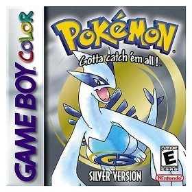 Pokemon, Silver Version Game Boy Color artwork