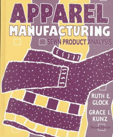 Apparel Manufacturing Sewn Product Analysis 2nd 1995 edition cover