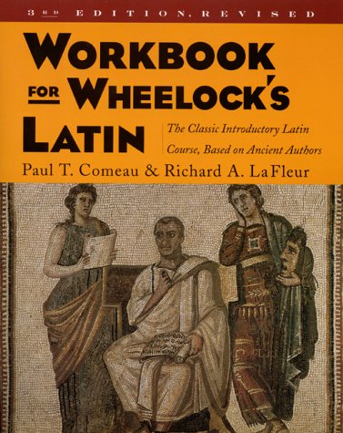 Workbook for Wheelock's Latin  3rd 2000 (Revised) edition cover